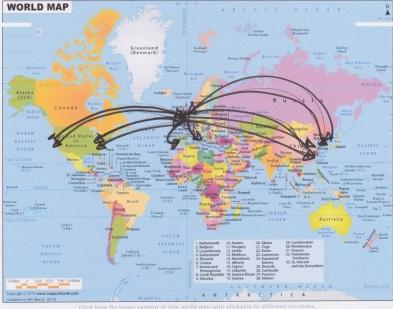 scientific map