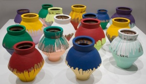 ai-weiwei-colored-vases-art basel