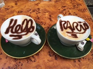 Paris coffee
