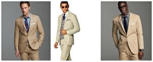 tan suits